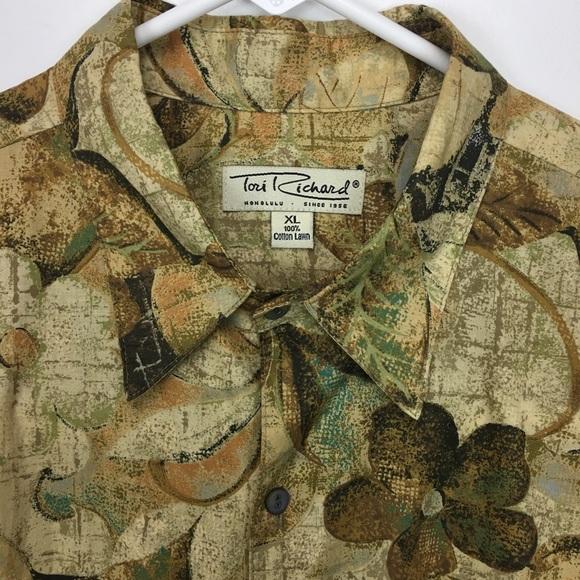 1536730b Tori Richards Honolulu Shirts | Button Up Short Sleeve Xl | Poshmark